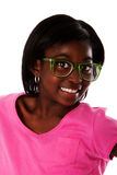 Visage heureux d'adolescent Photo stock