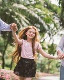 Visage heureux de fille Photographie stock libre de droits
