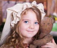Visage, jouet mou, chapeau ! Photos stock