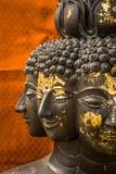 Visage multi de Bouddha Images libres de droits