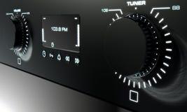 Visage par radio moderne illustration de vecteur