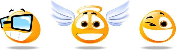 Visage souriant Images libres de droits