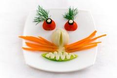 Visage végétal Image libre de droits