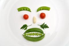 Visage végétal Images libres de droits