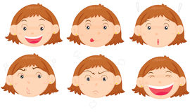 visages Images stock