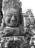 Visages chez le Bayon, Cambodge Photographie stock libre de droits