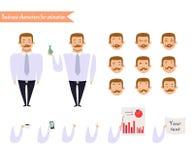 Visages d'émotion Emoji font face à des icônes illustration de vecteur