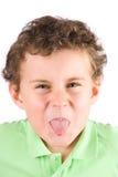 visages d'enfant rendant idiots Photographie stock libre de droits