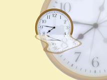 Visages d'horloge Images libres de droits
