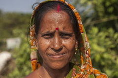 Visages d'Inde Photos stock