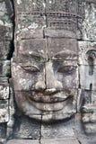 Visages de Bayon, Angkor Thom, Cambodge. Photos stock