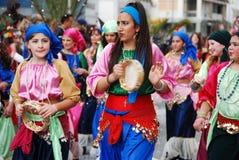 Visages de carnaval Images stock