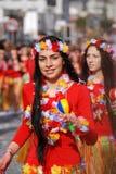 Visages de carnaval Images libres de droits