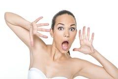Visages de femme Photographie stock libre de droits