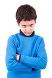 Visages de garçon Photos libres de droits