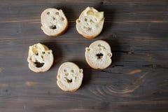 Visages de pain Image libre de droits