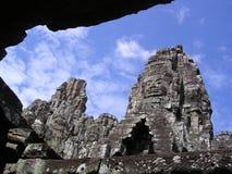 Visages de temple Image libre de droits