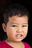 Visages souriants drôles photo libre de droits