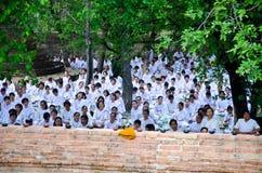 Visakha Bucha Day Stock Photo