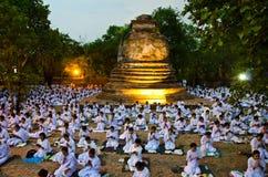 Visakha Bucha Day Stock Image
