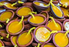 Visakha Bucha Day. Candles Buddha meditation relax concept Vesak day. Candles Buddha Visakha Bucha Day water lilly lotus flower. Buddha's birthday lotus flower royalty free stock image