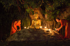 Visakha Bucha Day Royalty Free Stock Images