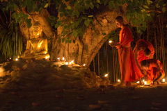 Visakha Bucha Day Stock Photos