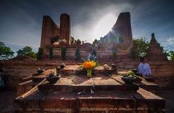 Visakhabucha em Ayutthaya Fotografia de Stock Royalty Free
