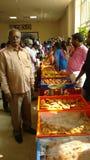 Visakhapatnam, Άντρα Πραντές, Ινδία, στις 12 Ιανουαρίου 2019: Μέρος του sambaralu sankranthi που διευθύνεται από το Α Π κυβέρνηση στοκ φωτογραφία