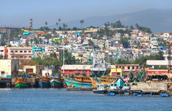 Άποψη της πόλης Visakhapatnam Στοκ Εικόνες