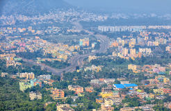 Visakhapatnam city scape in INDIA Royalty Free Stock Photos