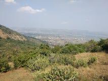 Visapur-Fort Naturansicht Pune stockfotografie