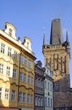 visar den tjeckiska prague för staden republiken Fotografering för Bildbyråer