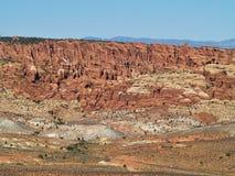 Visarna av Canyonlands Arkivfoton