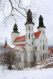 visby的大教堂 免版税库存照片