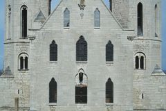 Visby cathedral. Close up, Gotland Royalty Free Stock Photo