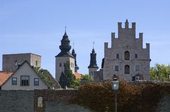 Visby city Stock Photography