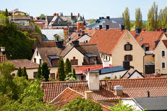 Visby city at Gotland, Sweden Stock Photos