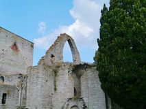Visby on Gotland in Sweden Stock Photo