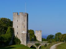Visby on Gotland in Sweden Stock Photography