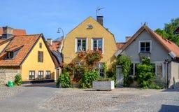 Visby, Zweden Stock Foto