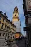 Viscardigasse, Monachium zdjęcie royalty free