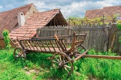 Visciri Fortyfikował kościół w Rumunia zdjęcia stock