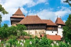 Visciri stärkte kyrkan i Rumänien arkivfoton
