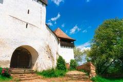 Visciri-Wehrkirche in Rumänien stockfoto