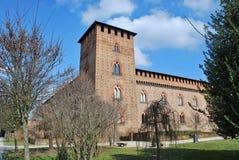 Visconteo-Schloss Stockfotografie