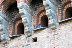 Visconteo-Schloss Stockfoto