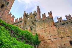 Visconti Castle. Castell'Arquato. Emilia-Romagna. Italy. Stock Photography