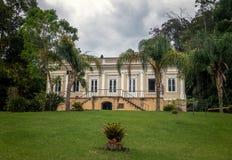 Viscount Maua dom lub Visconde De Maua Casa da Educacao, Petropolis -, Rio De Janeiro, Brazylia zdjęcie stock