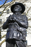 Viscount Slim Statue in London Stock Images